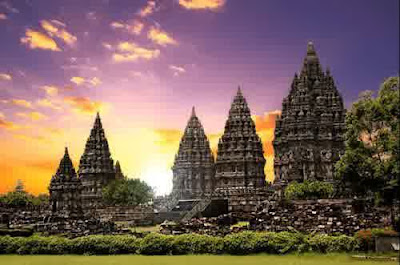 The most beautiful Prambanan temple