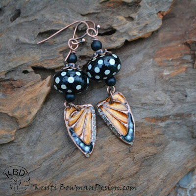 http://www.kristibowmandesign.com/product/beautiful-copper-monarch-butterfly-wings-resin-earrings