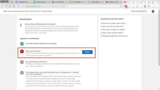 Syarat dan Cara Daftar AdSense YouTube (Terbaru)