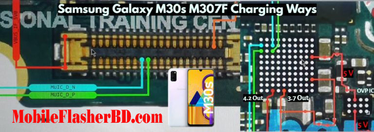 Samsung Galaxy M30s M307F NOT Charging Problem Jumper Ways image Download