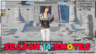 Pubg Mobile Season 14 Emotes - Season 14 emotes 0.19.0 update