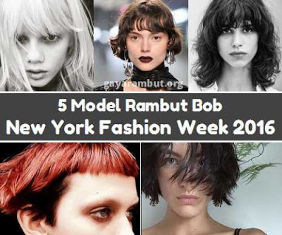 model rambut bob new york fashion week 2016_021147
