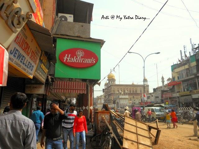 Haldiram, famous Chandni Chawk eatery, Delhi