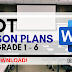 COT LESSON PLAN FOR GRADES 1 - 6 | FREE DOWNLOAD | DOCUMENT FILES