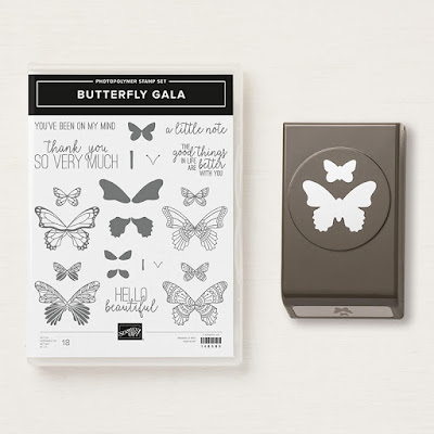 Know a butterfly lover. Then they will love you forever when you make them a card using our Butterfly Gala stamp set and matching punch. See them here - http://bit.ly/ButterflyGalaBundle