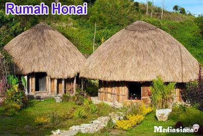 Rumah Adat Suku Papua