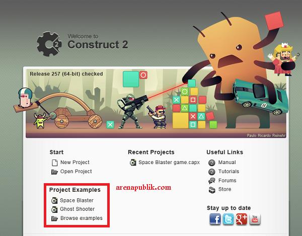 Membuat Game Sederhana Dengan Construct 2