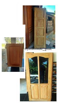 Kusen pintu jati surabaya gresik