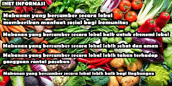 COVID-19 Memberi Konsumen Lima Alasan Baru  Makanan Lokal