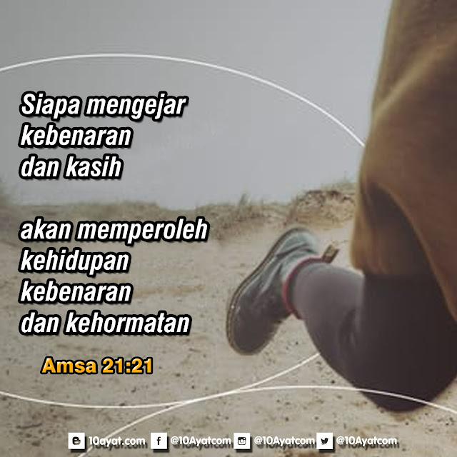 Amsal 21:21