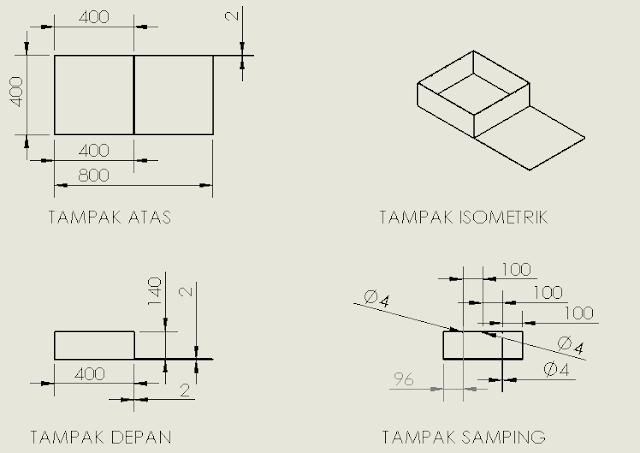 Gambar 3 10 Rancangan Miniatur (sumber : perancangan)