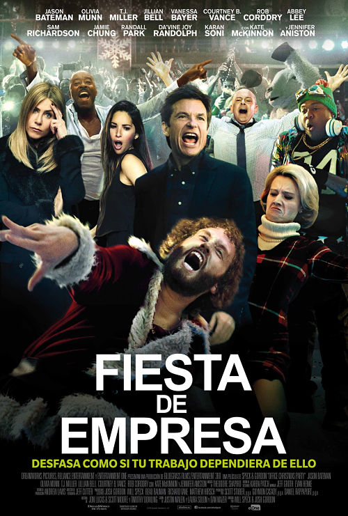 Cartel: Fiesta de empresa (2016)