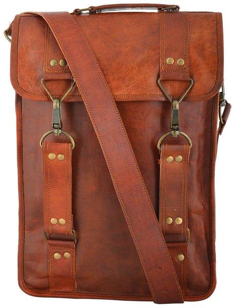 f94ff1a033aae LH29. Skórzana mała listonoszka RONIN 3 LESACK™ torba na ramię męska ...