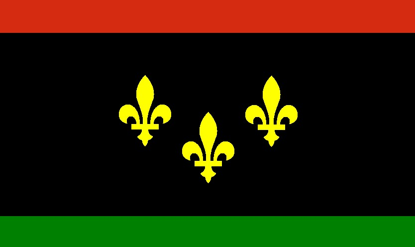 0e60f4f2e30 The African-American New Orleans pride flag is based upon the official flag  of New Orleans
