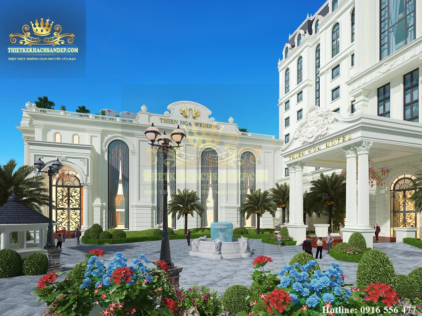 Hình ảnh: Thiên Nga WEDDING - một phần không thể thiếu của thiết kế nhà hàng khách sạn tại Lào Cai