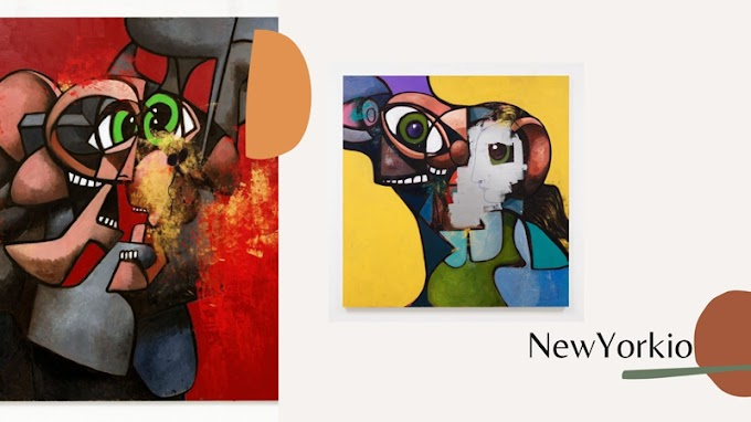 George Condo Unveils New Paintings and Drawings Made During Quarantine