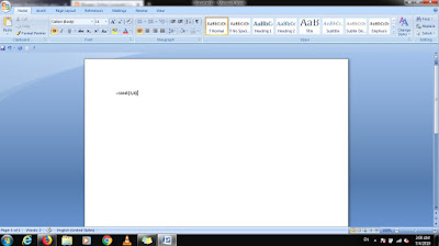 ms word randon text type
