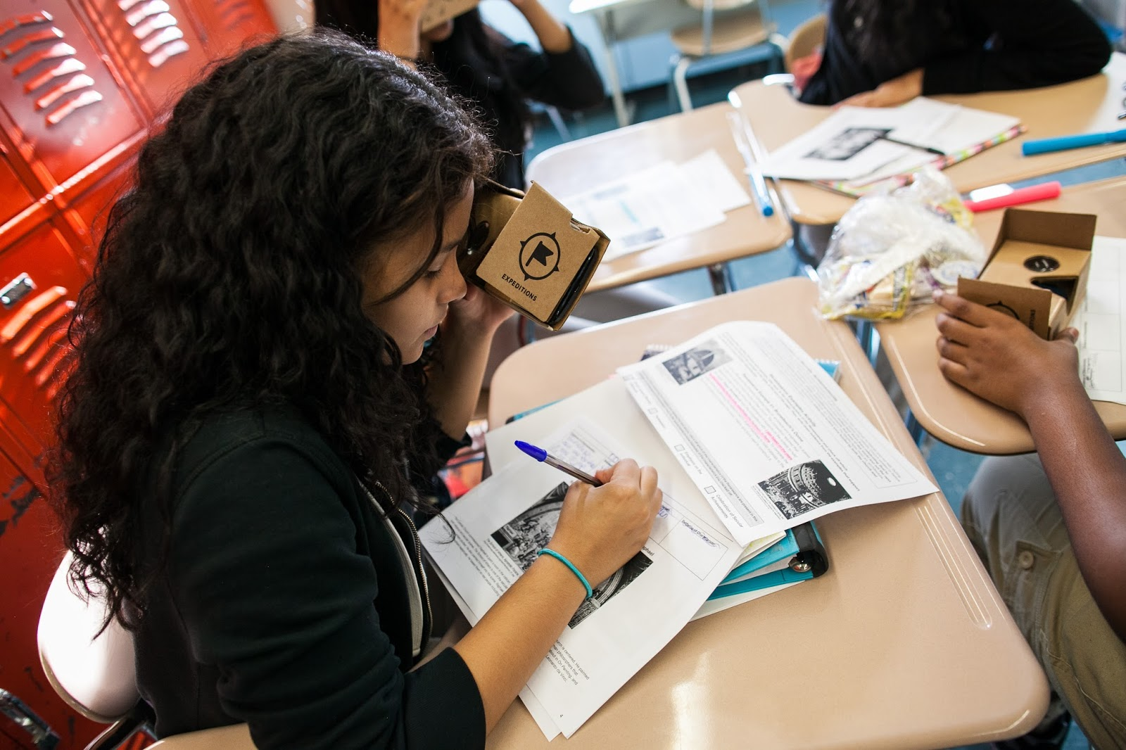 bronx latin featured in the ny times and google blog using google  bring virtual reality field trips to your school google expeditions