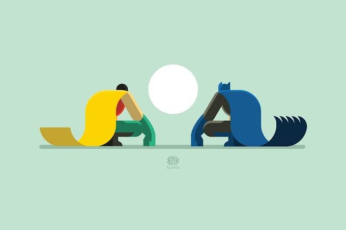 قصة باتمان وسوبرمان