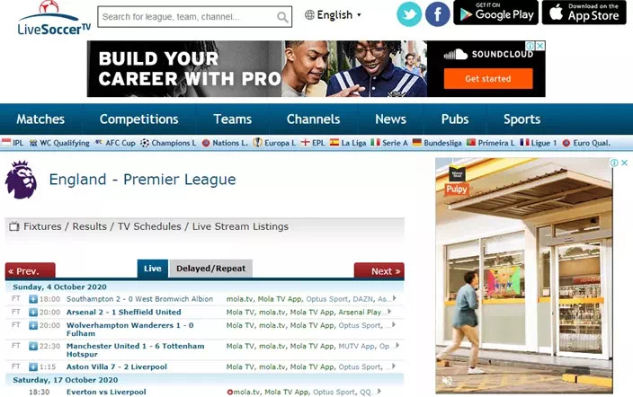8 Situs Live Streaming Bola Gratis Terbaik Brankaspedia Blog Ulasan Teknologi