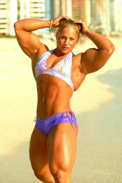 Hot Muscle Women Nude