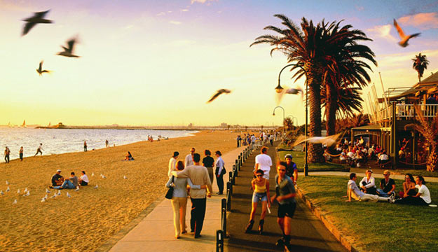 Melbourne and Sydney Beaches