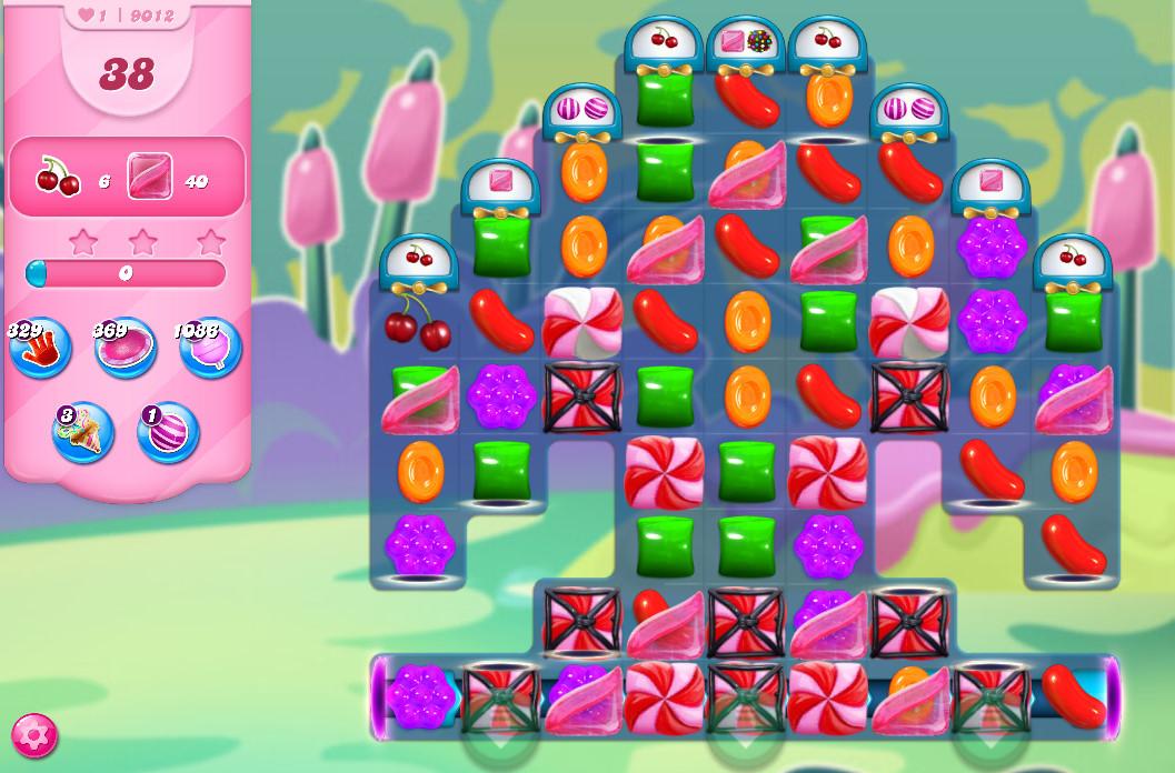 Candy Crush Saga level 9012