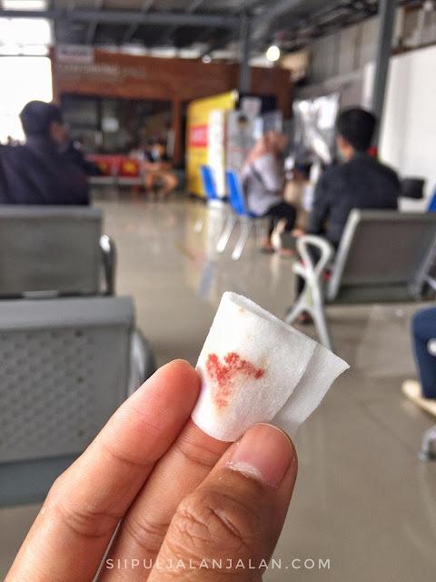 hasil rapid test di stasiun tugu yogyakarta