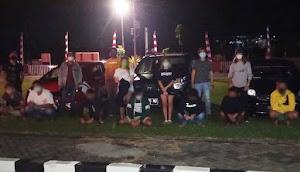 10 Pelaku Balap Liar di Jalan Tol Airmadidi-Sawangan Diamankan Polres Minut