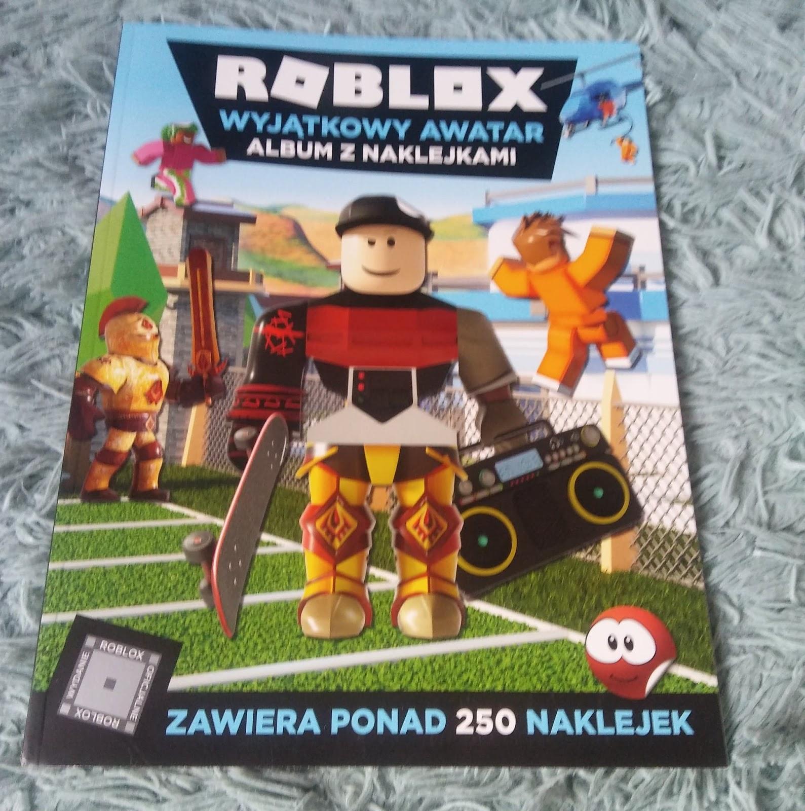 EGMONT- Roblox Wyjatkowy Awatar. Album z naklejkami.