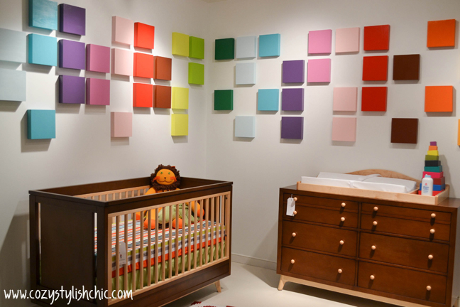 Gender neutral baby nursery by Young America/Stanley Furniture Company via Cozy•Stylish•Chic