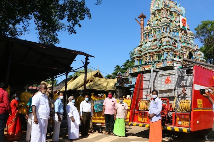 கன்னியாகுமரி புகழ்பெற்ற மண்டைக்காடு பகவதியம்மன் கோவிலில் ஏற்பட்ட தீ விபத்துக்கு இதுதான் காரணம்..? Is this the reason for the Kanyakumari Mandaikadu Bhagavathi amman temple fire?
