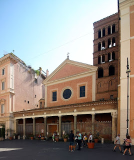 The church of San Lorenzo in Lucina in Rome, where Pasquini is buried