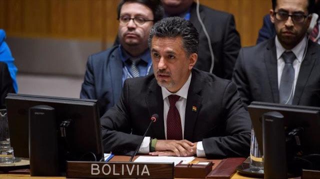 Bolivia rechaza la intervención de EEUU en Venezuela