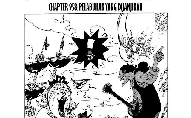 Spoiler One Piece 959 - Perubahan Rencana Pelabuhan Tokage