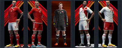 Denmark National Football Team kits 16-17
