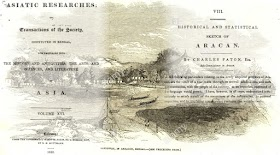 Historical and Statistical Sketch of Aracan (Arakan) by Charles Paton - free pdf