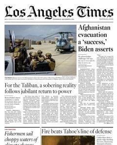 Los Angeles Times Magazine 1 September 2021