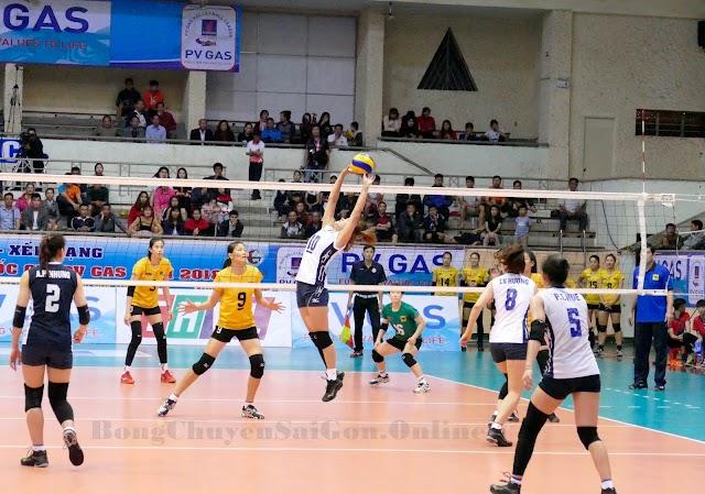 Những pha bóng đẹp của chuyền hai Nguyễn Linh Chi