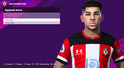 PES 2020 Faces Che Adams by Rachmad ABs