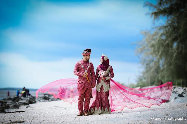 Pakej Fotografi Perkahwinan Pantai
