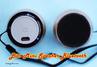 Bits Mini Speaker desain simpel