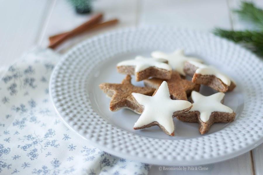 Galletas Estrellas de Canela Alemanas de Recomiendoblog.com