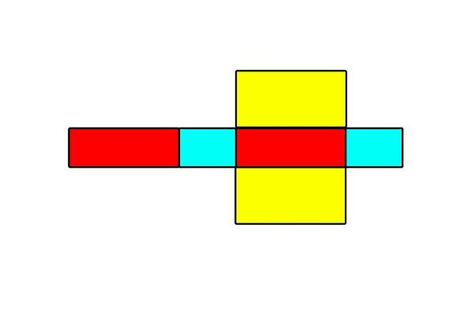 gambar jaring jaring balok tanpa tutup
