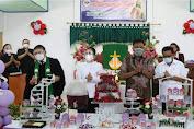 HUT ke-16 Wilayah Bitung 8 GMIM Petra Wangurer Barat, Gubernur Olly Ajak Jemaat Dukung Pencegahan Covid-19