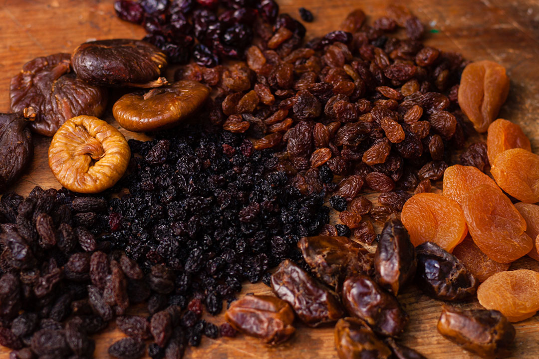 Dried fruit manufacturing
