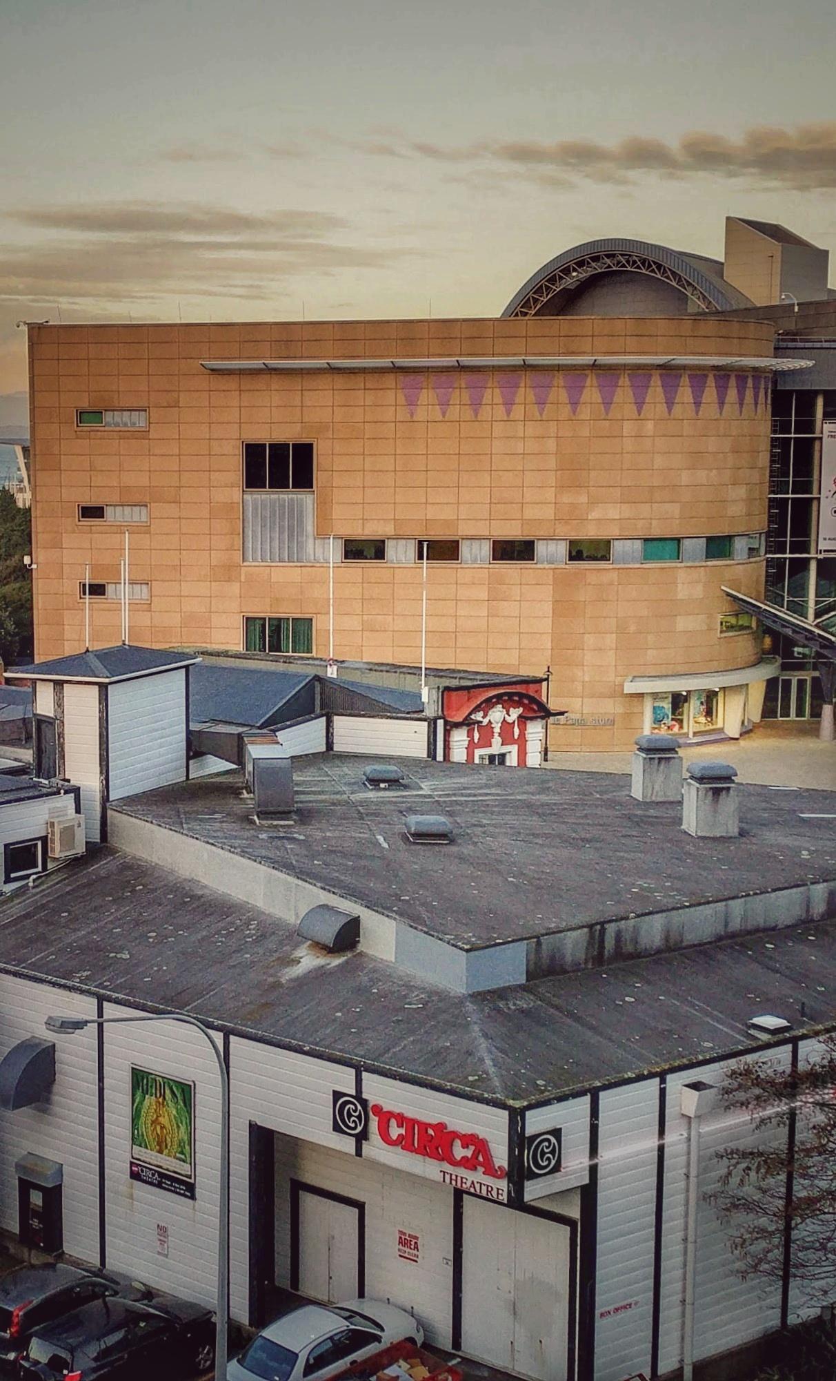 Circa Theatre and Te Papa, Wellington