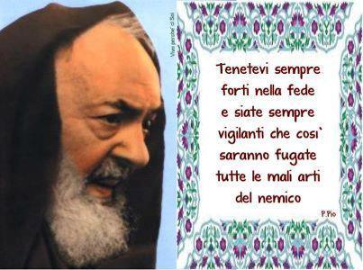 Frasi Di Padre Pio Sulla Famiglia
