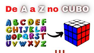 Como fazer letras no Cubo Mágico