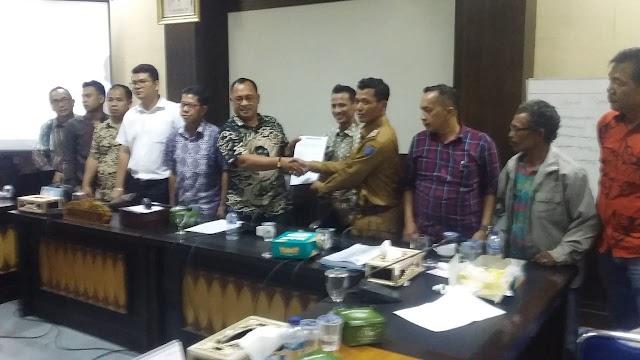 DPRD OKI Jembatani Sengketa Lahan PT. SAML VS Warga Desa Tirta Mulya belum temui kata sepakat